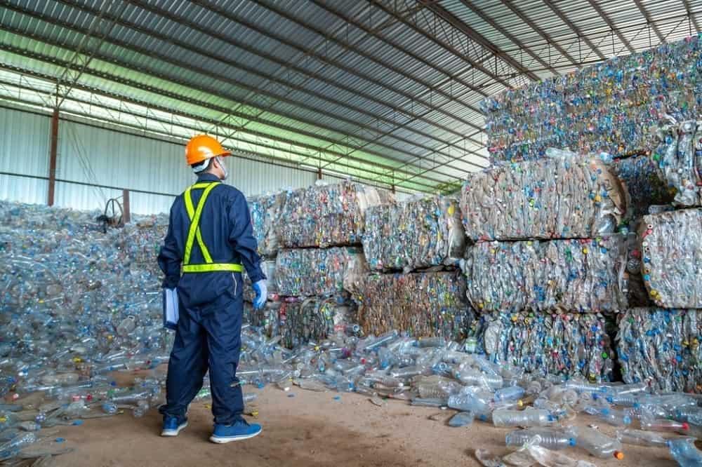 Industrial Plastic recycler